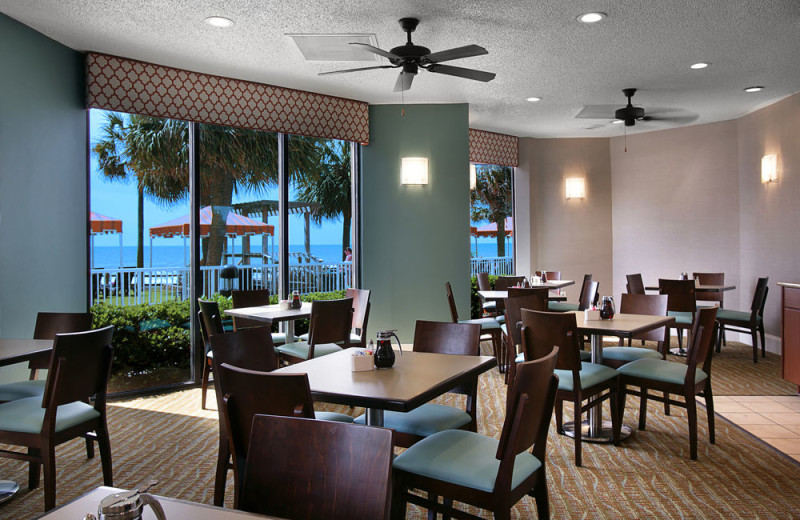 Dining at The Strand Resort Myrtle Beach.