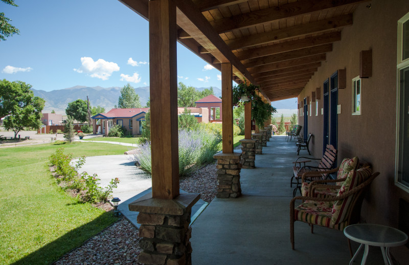 Porch at Joyful Journey Hot Springs Spa.