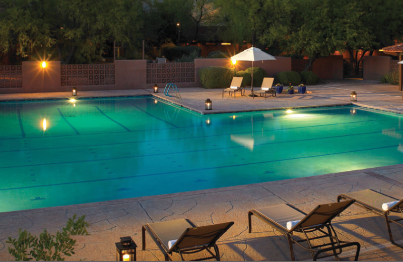 Outdoor pool at Canyon Ranch Tucson.