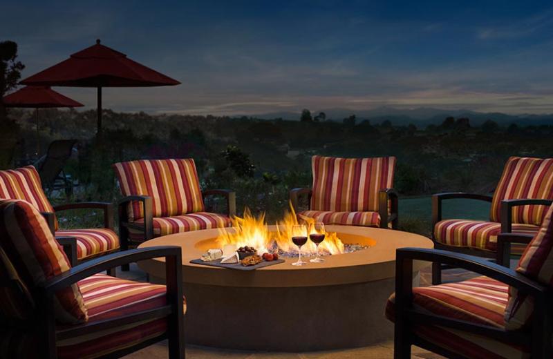 Fire pit at Residence Inn by Marriott Palm Desert.