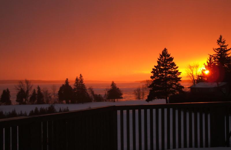 Sunset at Eganridge Resort, Country Club & Spa.
