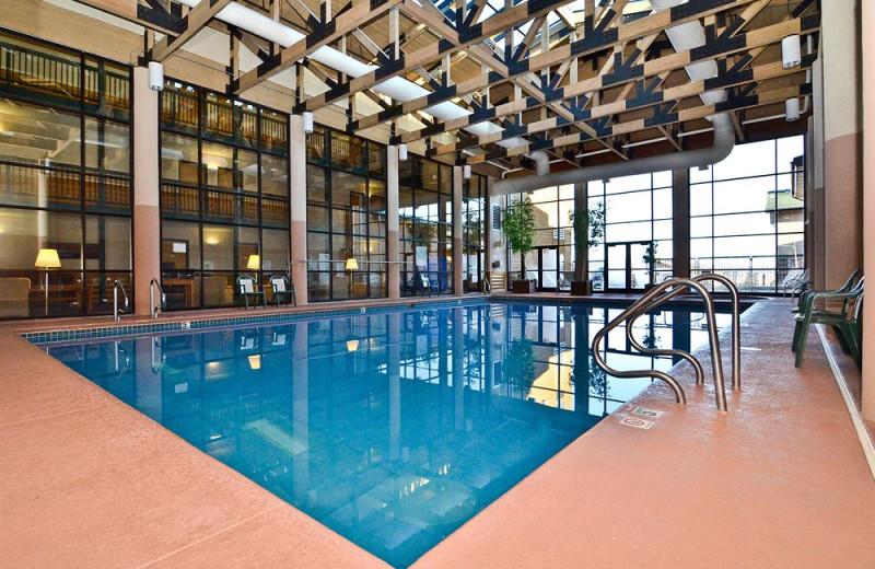 Indoor pool at Ruby's Inn.