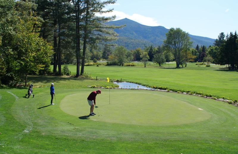 Golf at Waterville Valley Resort Association.