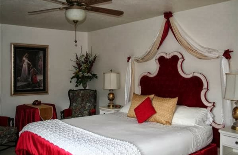 Guest room at Amid Summer's Inn Bed