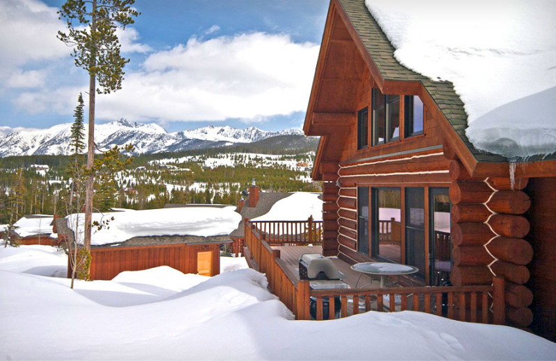 Rental exterior at Big Sky Luxury Rentals.