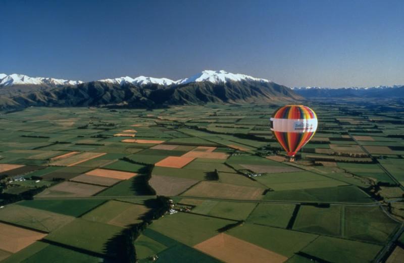 Balloon ride at Abisko Lodge.