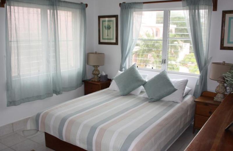 Guest room at Caribe Island Resort.
