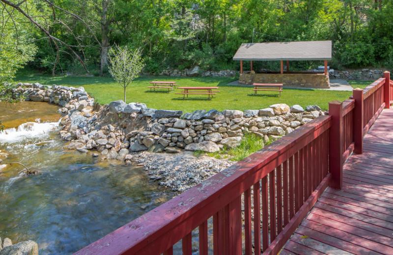 Creek at Boulder Adventure Lodge.
