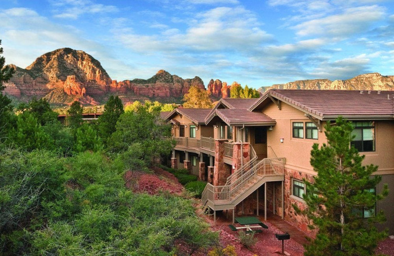 Exterior view of Wyndham Sedona.