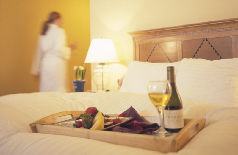 Room service at Beach House Half Moon Bay.