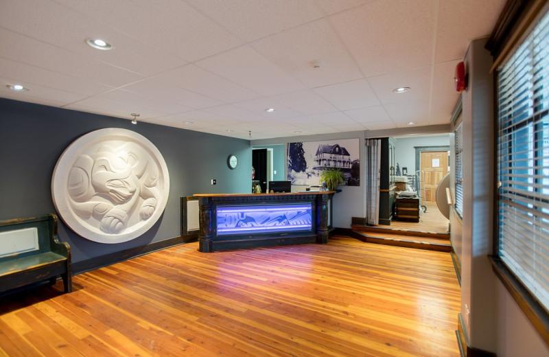 Lobby at Lund Resort at Klah ah men.