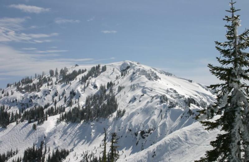 Beautiful Mountain View at Sugar Bowl Resort