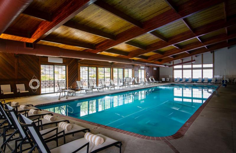 Indoor pool at Stoneridge Resort.