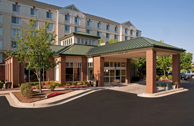 Exterior view of Hilton Garden Inn Plymouth.