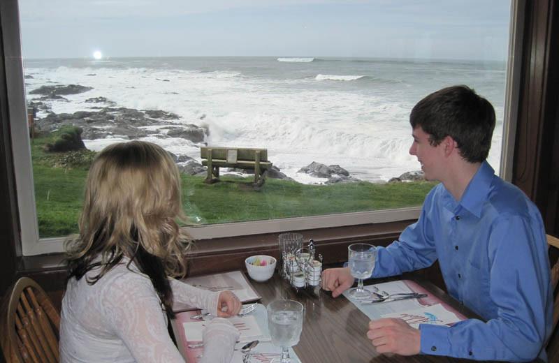 Romantic view at Adobe Resort.