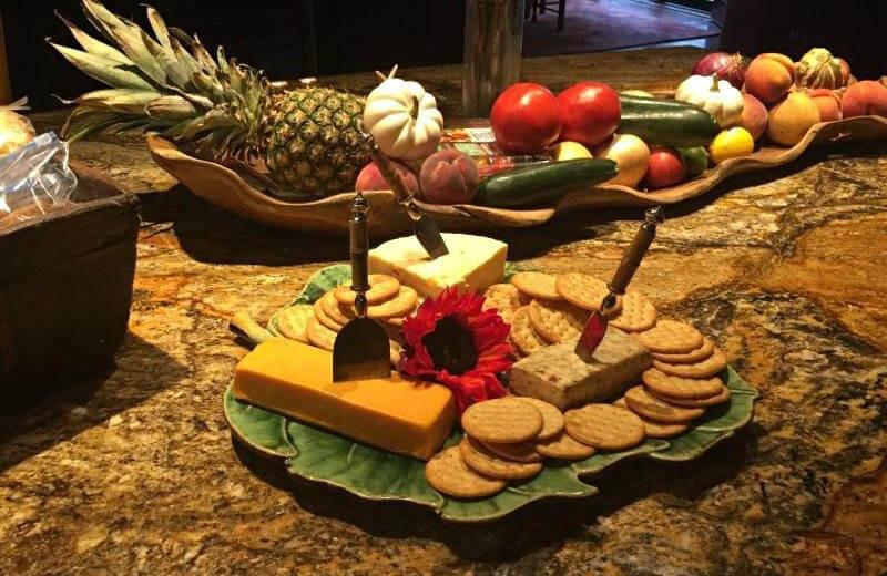 Dining at The Lodge at River Run.