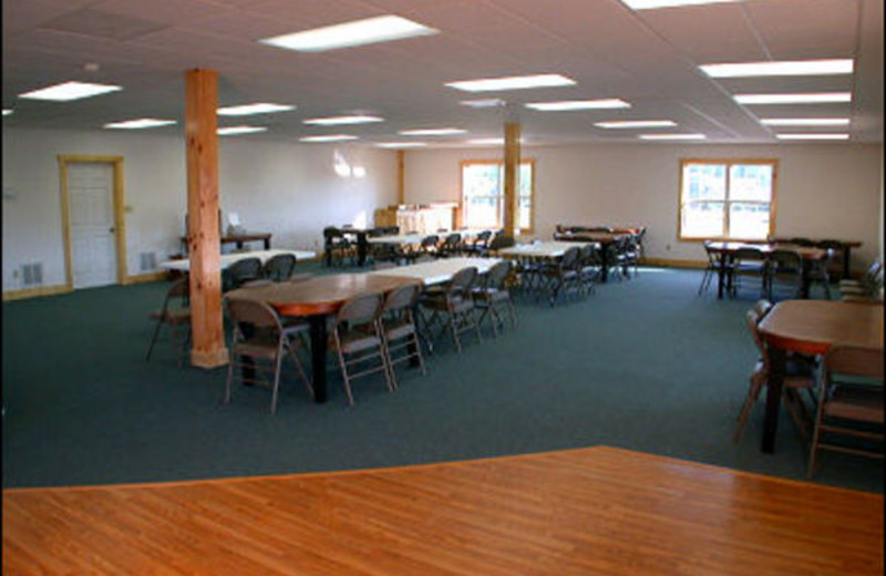 Conference room at The Fisherman's Lodge.