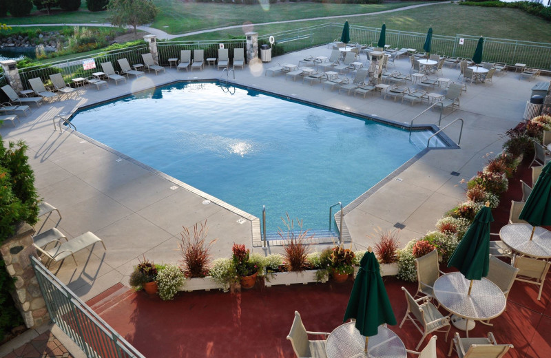 Pool at The Osthoff Resort.
