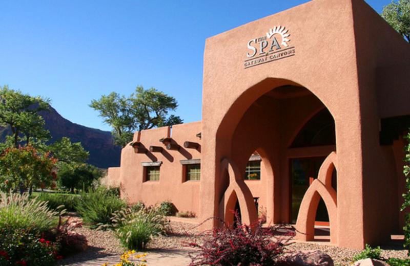 Exterior Spa View at Gateway Canyons Resort