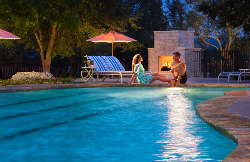 Outdoor pool at Omni Barton Creek Resort & Spa.