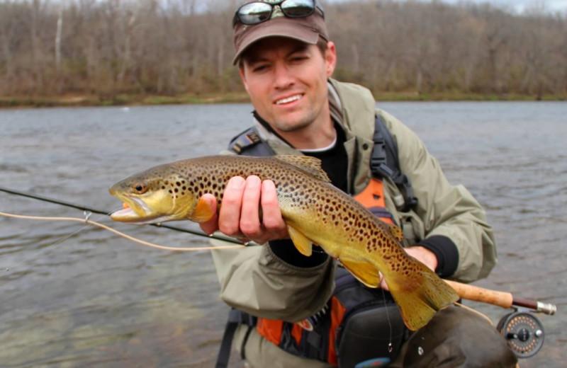 Fishing at Balch Hotel.