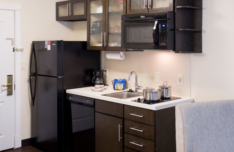 Guest kitchenette at Candlewood Suites - Stevensville.