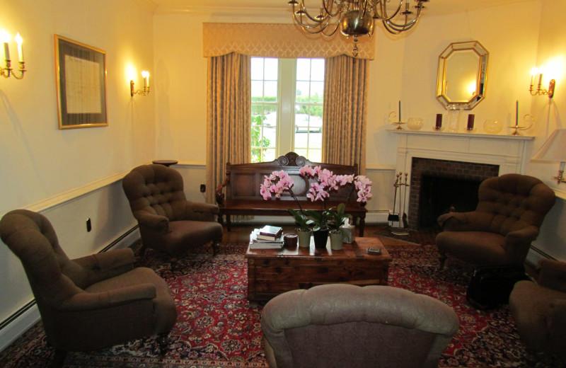 Sitting area at Bridgetown Mill House Inn.