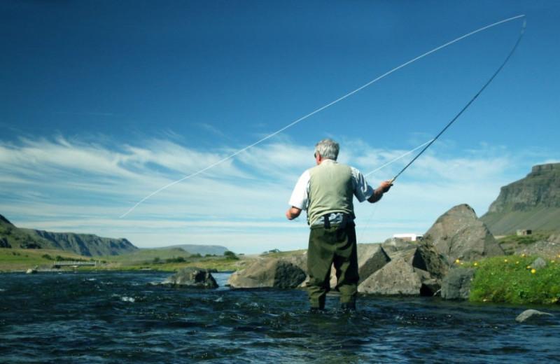 Fishing at Inver Lodge Hotel.