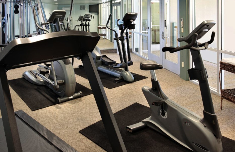 Fitness Center at Shore Cliff Lodge