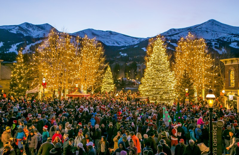 Christmas at Grand Colorado on Peak 8.