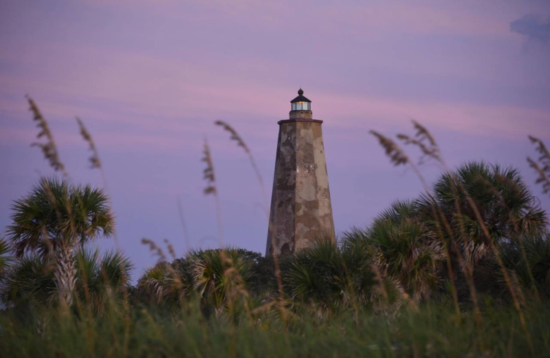Sunset at The Inn at Bald Head Island.
