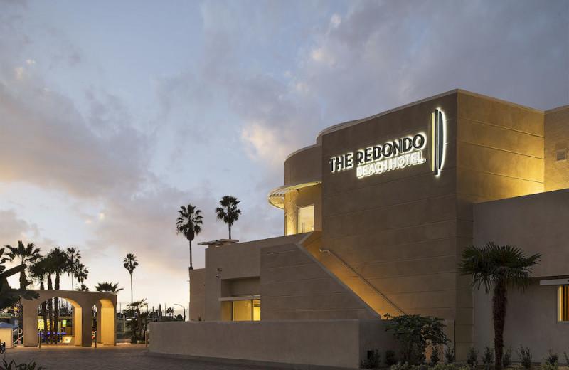 Exterior view of The Redondo Beach Hotel.