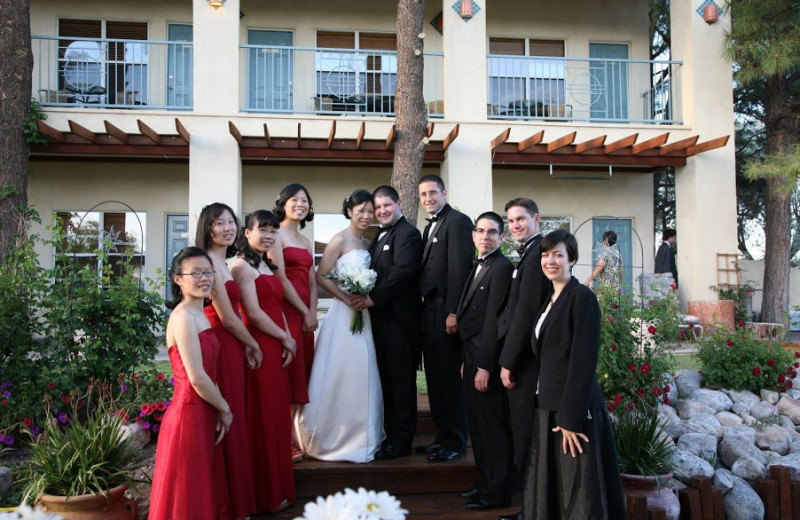 Wedding party at Inn at Paradise.
