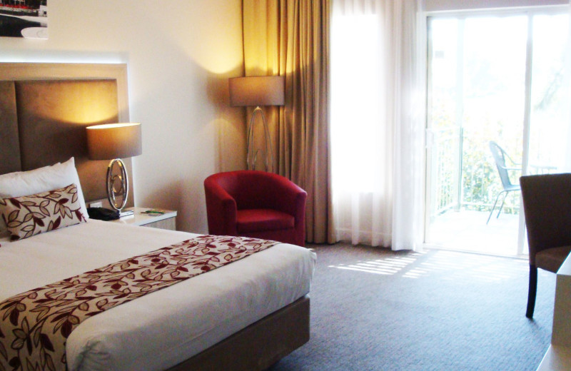 Guest room at Joondalup Resort.