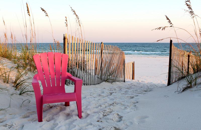 Beach at Bender Realty.