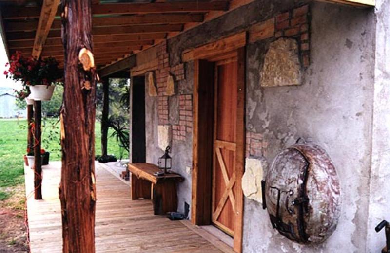 Spa Center and Sauna at  Fredericksburg Ranch.