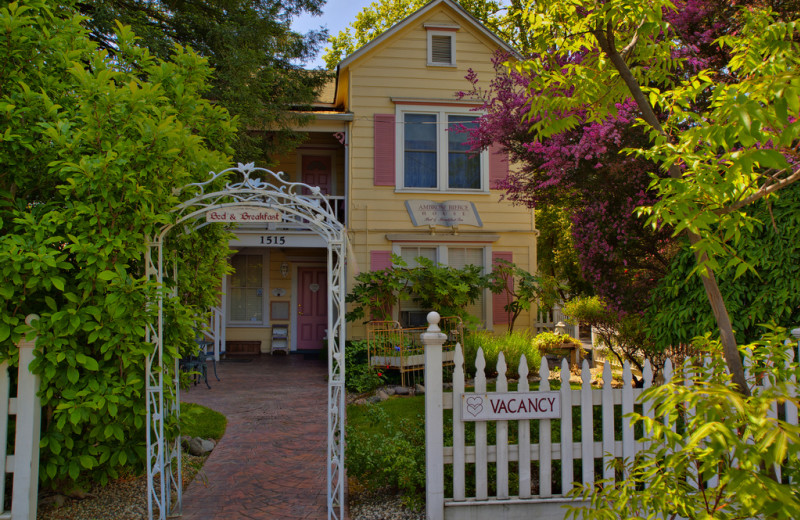 Exterior view of The Ambrose Bierce House B&B.