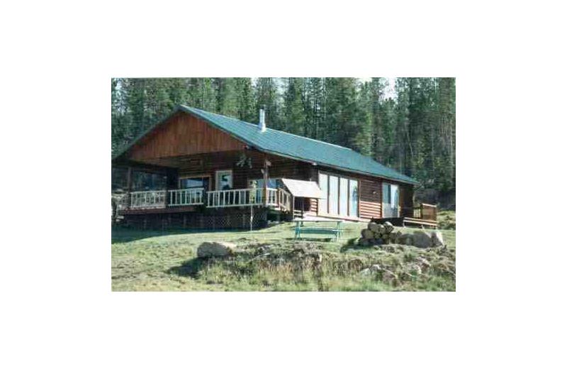 Cabin exterior at Ideal Rental Properties.