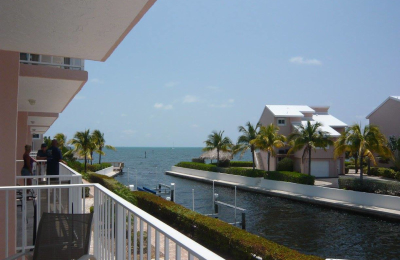 Rental balcony at Keys Holiday Rentals, Inc.