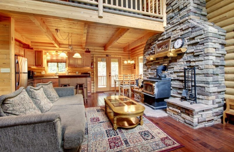 Renal living room at Family Time Vacation Rentals.