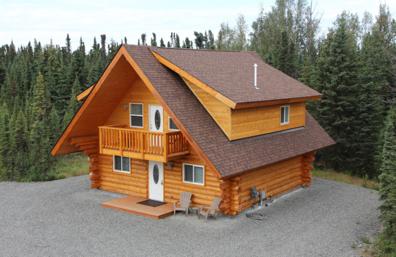 Exterior view of Salmon Catcher Lodge.