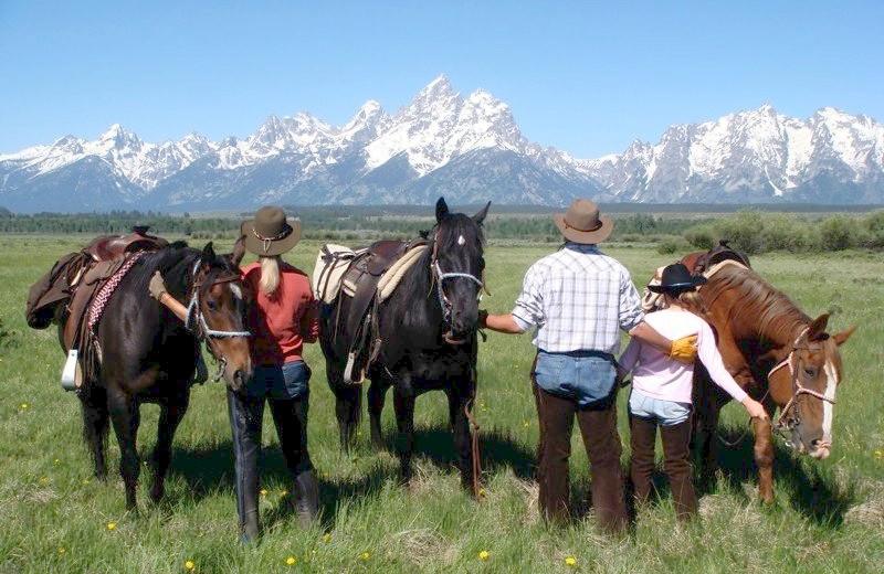 Horseback Riding at Moose Head Ranch
