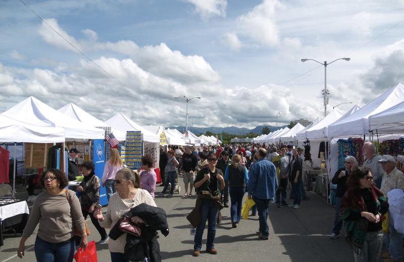 Festival at Gwin's Lodge & Kenai Peninsula Charter Booking Service.