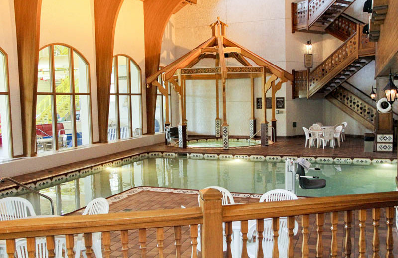 Indoor pool at Bavarian Inn of Frankenmuth.