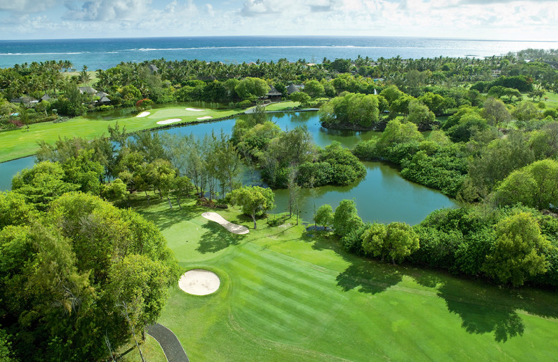 Golf course at Belle Mare Plage Golf Hotel & Resort.