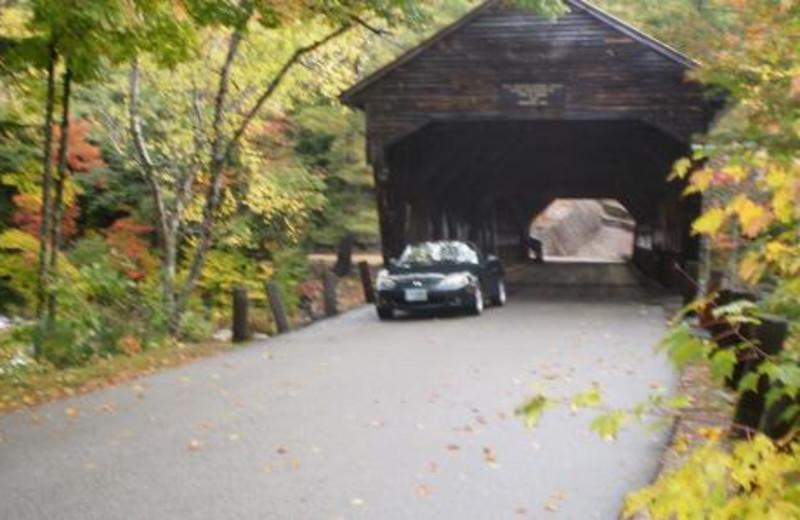 Beautiful Covered Bridges at Cathedral Ledge Resort