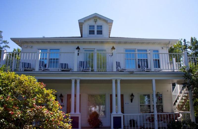 Exterior view of Bay Breeze Resort.