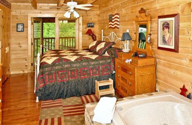 Bedroom at Hidden Mountain Resorts