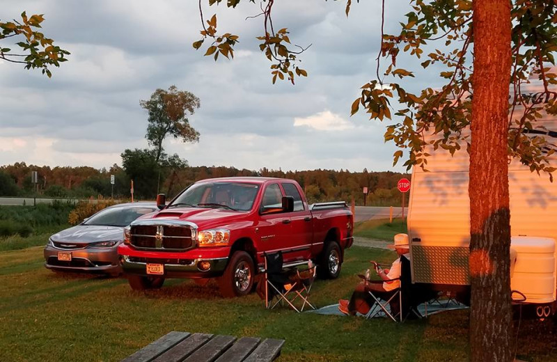 Camp at Olson's Big Pine Get-A-Way.