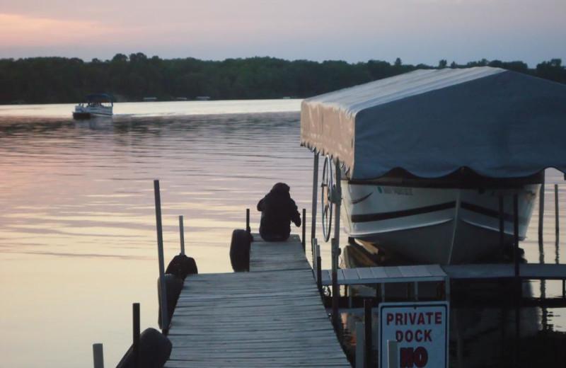 Dock at Betsy Ross Resort.